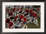 British Sortie Reenactment at Yorktown Battlefield, Virginia Posters