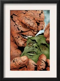 Hulk & Thing: Hard Knocks 2 Cover: Hulk and Thing Swinging Posters by Jae Lee