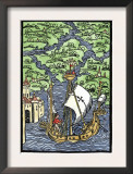 Isabella, the Settlement Founded by Columbus on Hispaniola, c.1493 Prints
