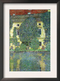 Castle At The Attersee Prints by Gustav Klimt