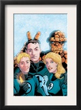 Fantastic Four Volume 3 50 Cover: Thing, Mr. Fantastic, Human Torch and Invisible Woman Posters by Barry Windsor-Smith