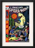 The Amazing Spider-Man 96 Cover: Spider-Man Art by Gil Kane