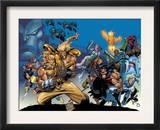 X-Men: The Complete Age Of Apocalypse Epics Cover: Sabretooth Print by Joe Madureira