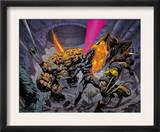 X-Men/Fantastic Four N1 Cover: Thing Prints by Pat Lee
