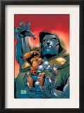 Fantastic Five 3 Cover: Dr. Doom and Thing Posters by Ron Lim