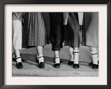 Legs and Feet with Dog Collar Anklets Prints by Roger Higgins