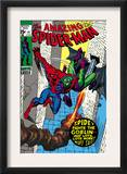 The Amazing Spider-Man 97 Cover: Spider-Man and Green Goblin Posters by Gil Kane