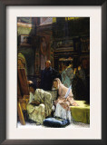 The Gallery Print by Sir Lawrence Alma-Tadema