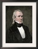 President James K. Polk Print