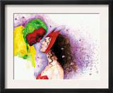 Avengers Finale 1 Headshot: Vision and Scarlet Witch Prints by David Mack