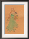 Flamenco Dancer Poster by Norma Kramer