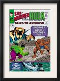 Tales to Astonish 73 Cover: Hulk and Uatu The Watcher Print by Vince Colletta