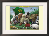 A Sloth of Prolibearean Bears Prints by Richard Kelly