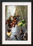 Marvels: Eye Of The Camera 4 Cover: Iron Man, Thor and Vision Print by Jay Anacleto