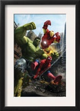 Marvel Adventures Iron Man Special Edition 1 Cover: Iron Man, Hulk and Spider-Man Posters by Francisco Ruiz Velasco
