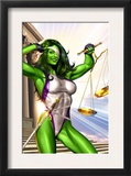 She-Hulk 1 Cover: She-Hulk Prints