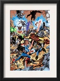 Avengers 99 Annual Cover: Captain America, Thor, Iron Man, Wonder Man and Avengers Prints by Leonardo Manco