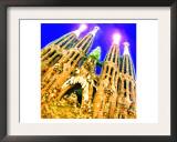 Sagrada Familia, Barcelona Posters by  Tosh