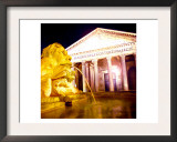 Pantheon, Rome Print by  Tosh