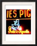Pigale Neon, Paris Art by  Tosh