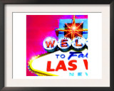 Welcome To Vegas, Las Vegas Poster by  Tosh