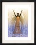 Angel with Arms Raised Print