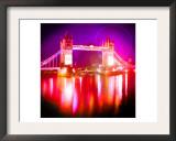 Tower Bridge Night, London Prints by  Tosh