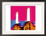 Battersea Power Station, London Art by  Tosh