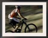 The Back of a Mountain Biker, Mt. Bike Prints by Michael Brown