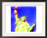 Statue of Liberty, New York Prints by  Tosh