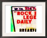 Rock Legends, Las Vegas Prints by  Tosh