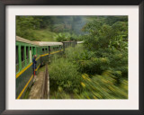 Train Travelling Between Manakara and Fianarantsoa, Madagascar Prints by Inaki Relanzon