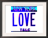 Love NY License Plate, New York Posters by  Tosh