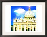 Basilica Di San Pietro, Rome Print by  Tosh