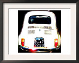 Fiat 500, Rome Prints by  Tosh