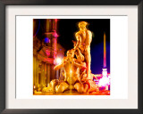 Piazza Navona Night, Rome Prints by  Tosh