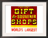 Gift Shop, Las Vegas Prints by  Tosh
