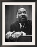Martin Luther King Press Conference, 1964 Posters