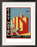 City Hotel Buenos Aires Posters