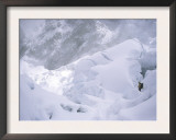 Conquering the Ice Fall, Everest Prints by Michael Brown