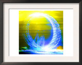 London Eye, London Print by  Tosh