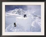 Contimplating the Route, Khumbu Ice Fall Prints by Michael Brown