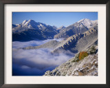 Clouds Fill the Valley of Llobegat in Cadi Moixero Natural Park. Catalonia, Pyrenees, Spain Poster by Inaki Relanzon