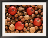 Apple, and Nut Harvest, Autumn Fruits Posters by De Cuveland