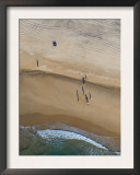People on a Beach with Very Long Shadows, Near Cadiz, Spain, February 2008 Print by Niall Benvie