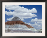 The Teepes Cones, Painted Desert and Petrified Forest Np, Arizona, USA, May 2007 Art by Philippe Clement