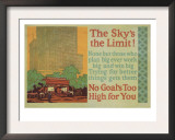 The Skys The Limit! Posters