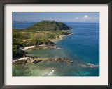 Coast at Nosy Be with Several Small Bays, North Madagascar Prints by Inaki Relanzon