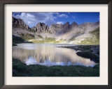 Acherito Lake in the Pyrenees Mountains, Spain Prints by Inaki Relanzon