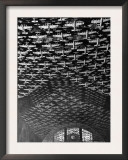 Model Airplanes on the Ceiling of Union Station, Chicago, 1943 Prints